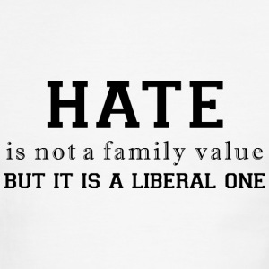 Hate a liberal value - Men's Ringer T-Shirt