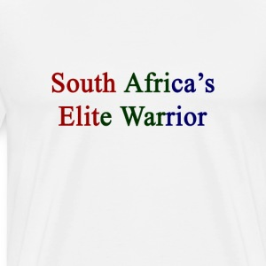 south_africas_elite_warrior T-Shirts - Men's Premium T-Shirt