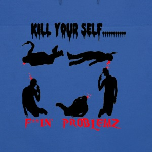 kill your self.png Hoodies - Men's Hoodie