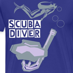scuba diving - Men's Premium T-Shirt
