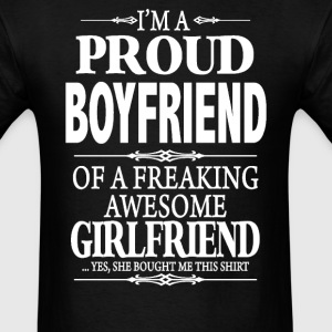 I'm A Proud Boyfriend - Men's T-Shirt