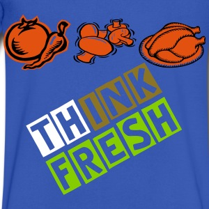 think fresh - Men's V-Neck T-Shirt by Canvas