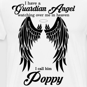 My Poppy Is My Guardian Angel she Watches Over My T-Shirts - Men's Premium T-Shirt