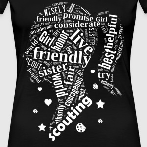 SCOUTING GIRL - girl scout leaders - Women's Premium T-Shirt