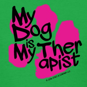 My dog is my therapist Women's T-Shirts - Women's T-Shirt