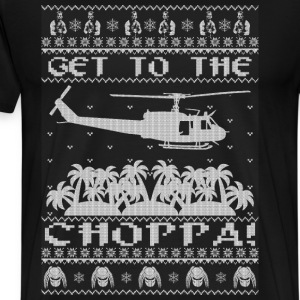 TO THE CHOPPA - Men's Premium T-Shirt