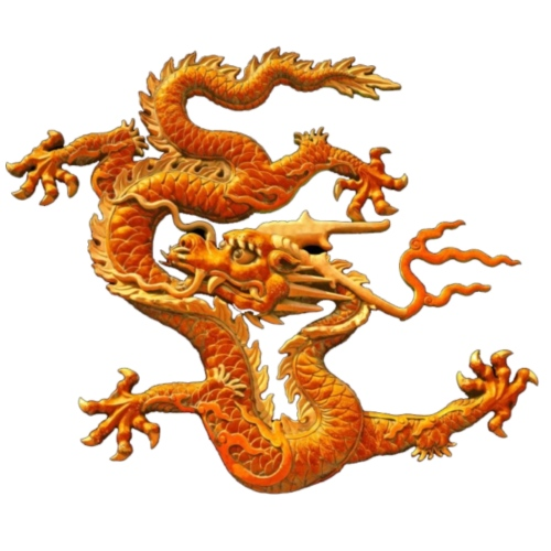 The Chinese loong, dragon