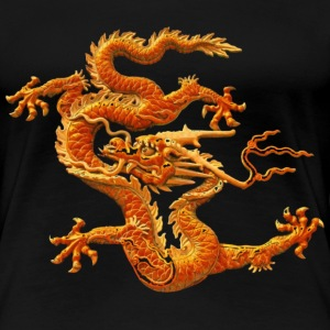 The Chinese loong  - Women's Premium T-Shirt