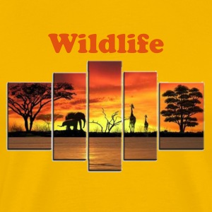 Wildlife - Men's Premium T-Shirt