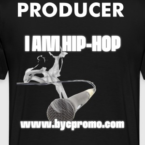 I AM HIP HOP BYC PROMO PRODUCER T - Men's Premium T-Shirt
