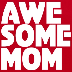 Awesome Mom Women's T-Shirts - Women's V-Neck T-Shirt