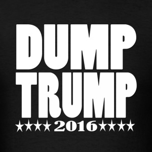 Men's DUMP TRUMP 2016 - Men's T-Shirt