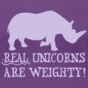 Fat Unicorns Women's T-Shirts - Women's Premium T-Shirt
