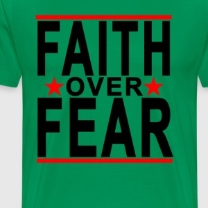 faith_over_fear_ - Men's Premium T-Shirt