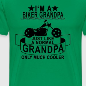 biker_grandpa_ - Men's Premium T-Shirt