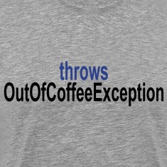 Coffee Exception T-Shirts