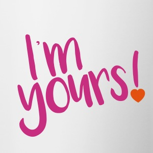 i'm yours! - Contrast Coffee Mug