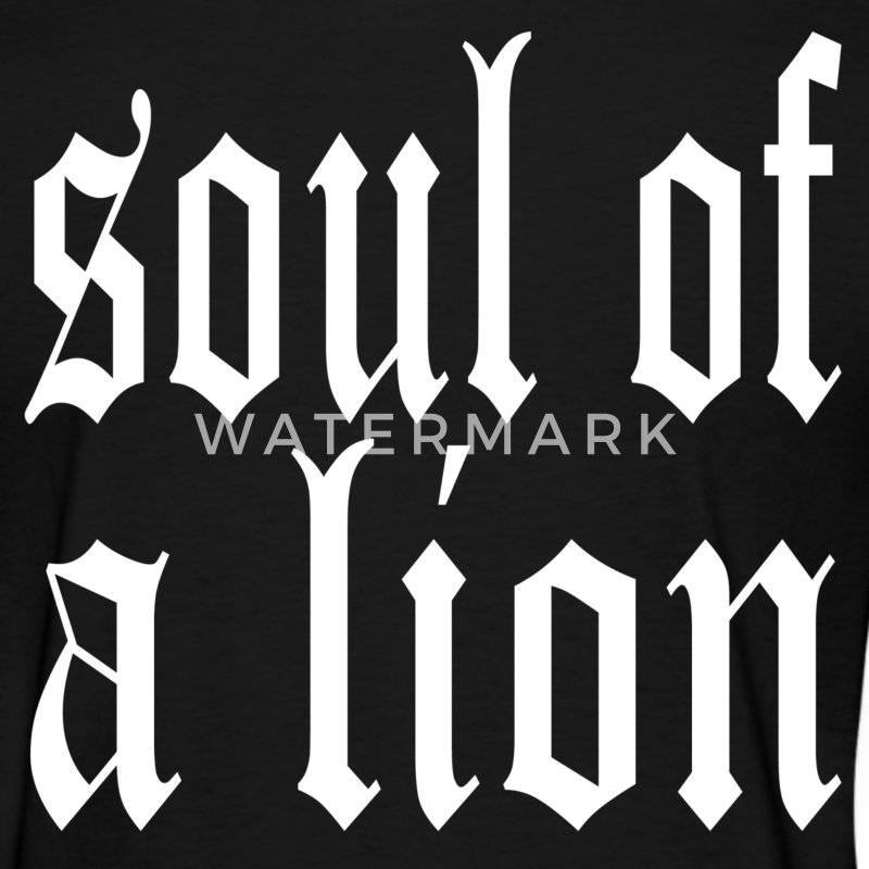 Warrior Soul of a Lion Women's T-Shirts - Women's T-Shirt
