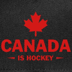 CANADA IS HOCKEY Sportswear - Snap-back Baseball Cap