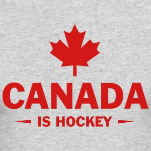 CANADA IS HOCKEY Long Sleeve Shirts - Men's Long Sleeve T-Shirt by Next Level