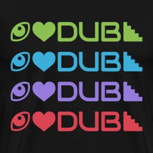 Dubstep Love - Men's Premium T-Shirt