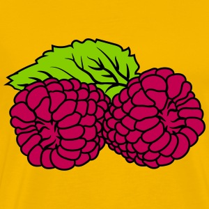 2 raspberries tasty T-Shirts - Men's Premium T-Shirt