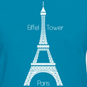 Eiffel Tower (dark) Women's T-Shirts - Women's T-Shirt