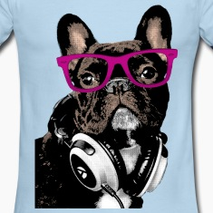 Hipster Frenchie T-Shirts