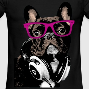 Hipster Frenchie T-Shirts - Men's Ringer T-Shirt