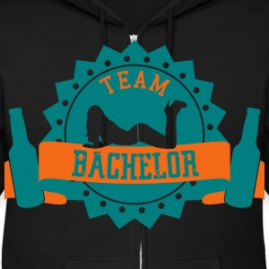 Team Bachelor Zip Hoodies & Jackets - Men's Zip Hoodie