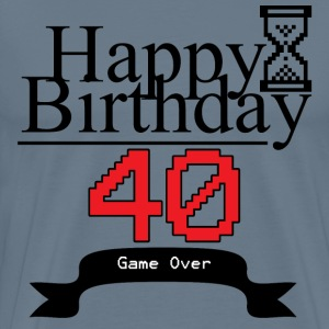 Happy 40 Birthday - Men's Premium T-Shirt
