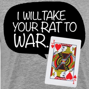 Rat War Trash Talk - Men's Premium T-Shirt
