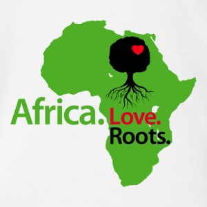 LocStar Revolution Love My African Roots! - Short Sleeve Baby Bodysuit