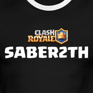 Saber2th Clash Royale - Men's Ringer T-Shirt