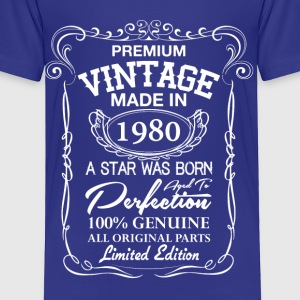 Premium Vintage 1980 Baby & Toddler Shirts - Toddler Premium T-Shirt