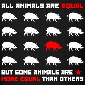 All animals are equal 2 (dark) T-Shirts - Men's T-Shirt