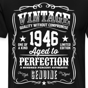Vintage 1946 Aged to Perfection - Men's Premium T-Shirt