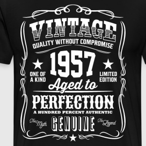 Vintage 1957 Aged to Perfection - Men's Premium T-Shirt