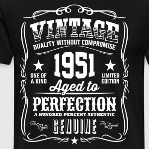 Vintage 1951 Aged to Perfection - Men's Premium T-Shirt