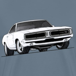 1969 Charger RT - Men's Premium T-Shirt