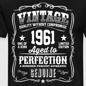 Vintage 1961 Aged to Perfection - Men's Premium T-Shirt