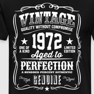 Vintage 1972 Aged to Perfection - Men's Premium T-Shirt