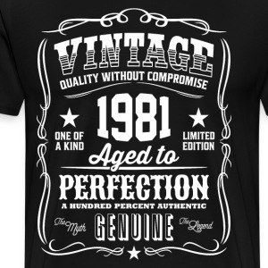 1981 Aged to Perfection - Men's Premium T-Shirt