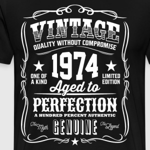 Vintage 1974 Aged to Perfection - Men's Premium T-Shirt