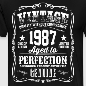 Vintage 1987 Aged to Perfection - Men's Premium T-Shirt
