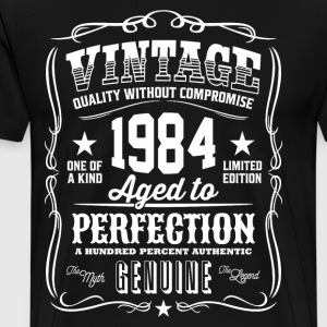 Vintage 1984 Aged to Perfection - Men's Premium T-Shirt