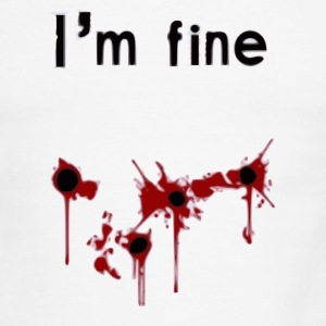 I'm Fine T-Shirts - Men's Ringer T-Shirt