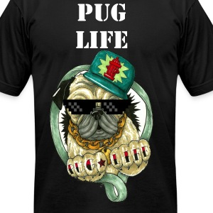 Pug Life Choose me tee - Men's T-Shirt by American Apparel