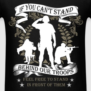 Veterans - Our Troops - Men's T-Shirt
