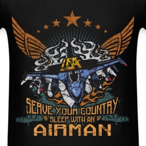 Airman - Serve your country - Men's T-Shirt
